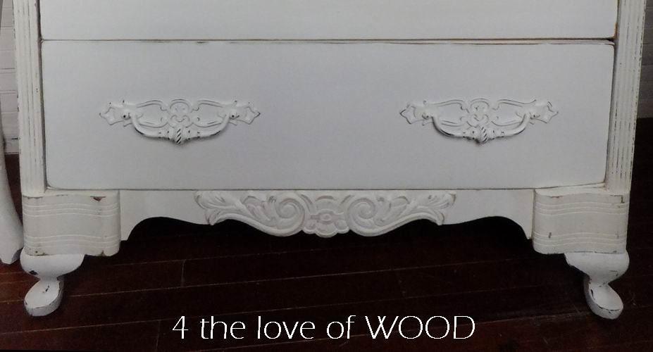 Wood Applique Furniture Embellishment Cabinet Decoration