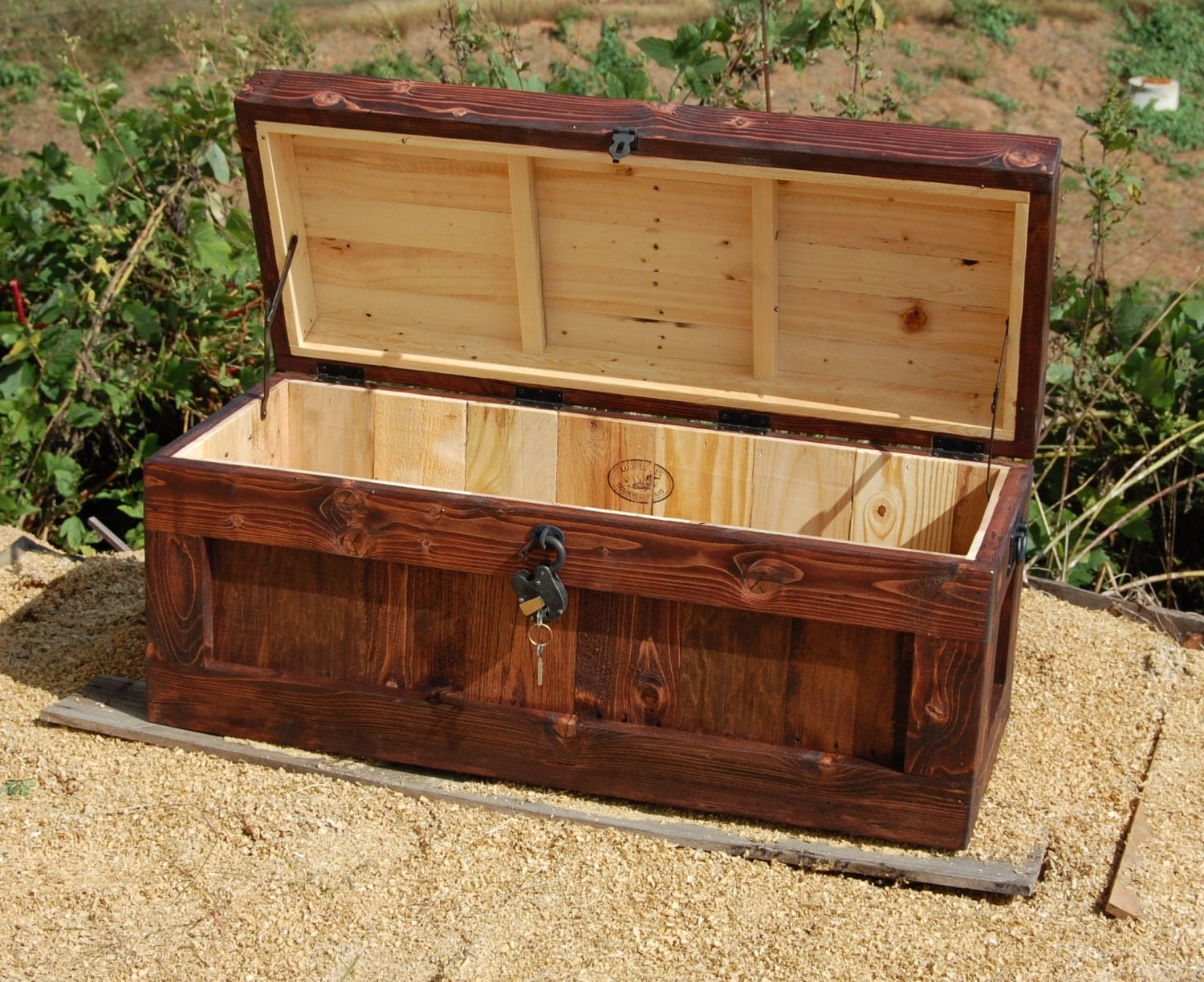 chest with lock hope chest wooden trunk coffee table