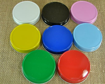 Mason Jar Lids - Great For Party Favors or Storage - 6 Lids Only - lcnh
