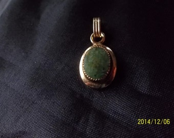Jade  Pendant Circa 80's