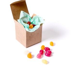25 Kraft Gift Boxes 2x2x2| Gift Box| Small Gift Box| Kraft Box| Wedding Favor Box| Favor Box| Jewelry Box| Kraft Boxes| Kraft Gift Box