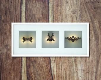 Set of unique photographic prints