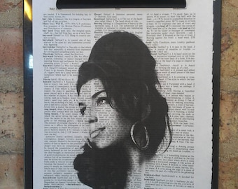 Amy Winehouse Dictionary Print