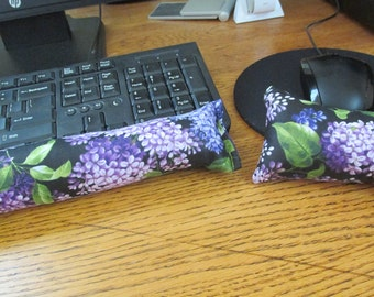 Purple Wrist Rest, Keyboard and Mouse Wrist Rest