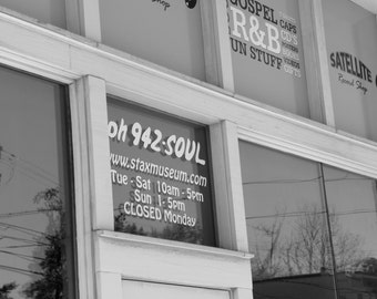 Phone 942-Soul, Fine Art Photography, Music Inspired Photos, Stax Records, Black and White Photography