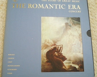 Concerts of the Romantic Era - Time Life Record Set - Vintage Vinyl Record Collection