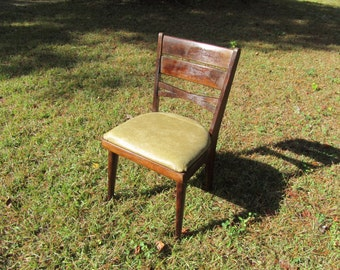 Side Chair, Mid Century Chair, wooden chair, mid century modern chair, Danish modern side chair