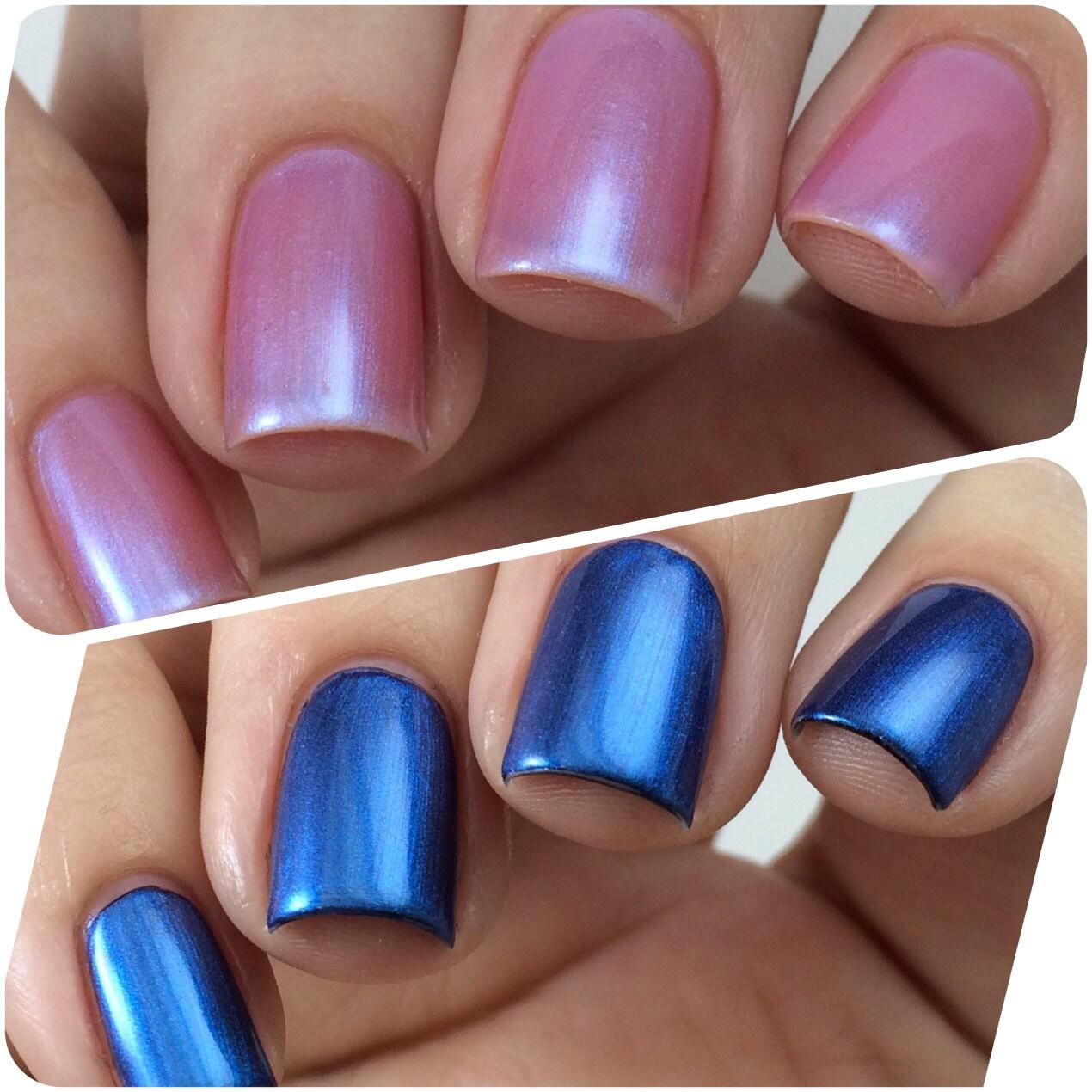 Color Changing Nail Polish