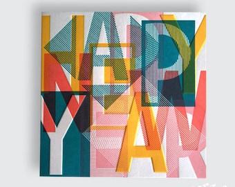 New yearscard - Christmascard
