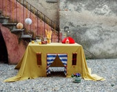 """Tablecloth house """"Celebration in the dunes"""" FREE SHIPPING WORLDWIDE"""