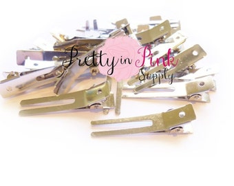 Double Prong Alligator Clips - Choose quantity...Hair Clips...Alligator Clip...DIY Hair Clip...Wholesale...Baby Girl