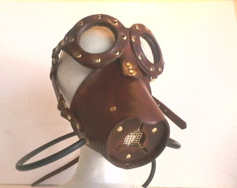Steampunk mask  gasmask