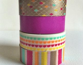 Washi Tape Set of 4 - 15MM