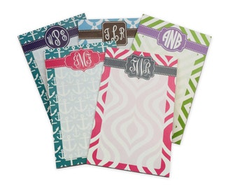 Monogram Notepad - Design your own - 5 x 7 [DYO]