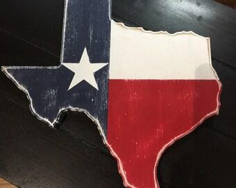 Wooden Texas Decor *HARVEY RELIEF*