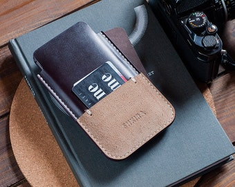 Horween Chromexcel No8 iPhone 6 Plus Leather Case Sleeve Wallet Ox Blood Burgundy