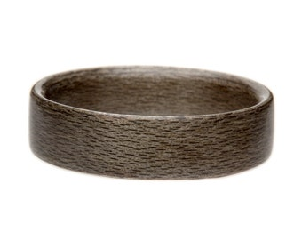 Wooden Ring -Grey Maple Bentwood Wooden Ring