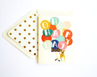Oh Happy Day Greeting Card