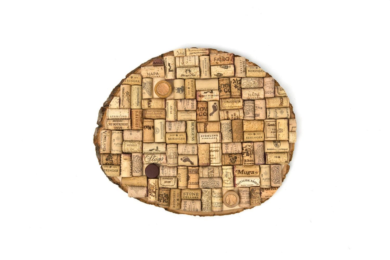 round natural edge cork board large. Black Bedroom Furniture Sets. Home Design Ideas