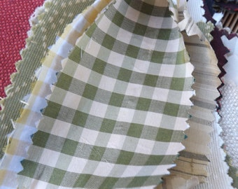Small pieces of  scrap fabric