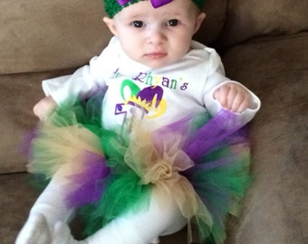 Mardi Gras Purple Green Gold Tutu
