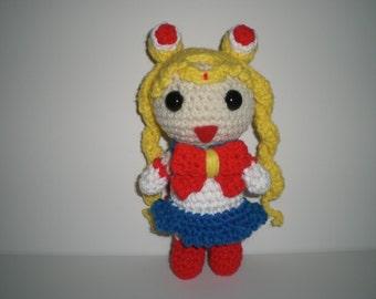 Crochet Sailor Moon Doll
