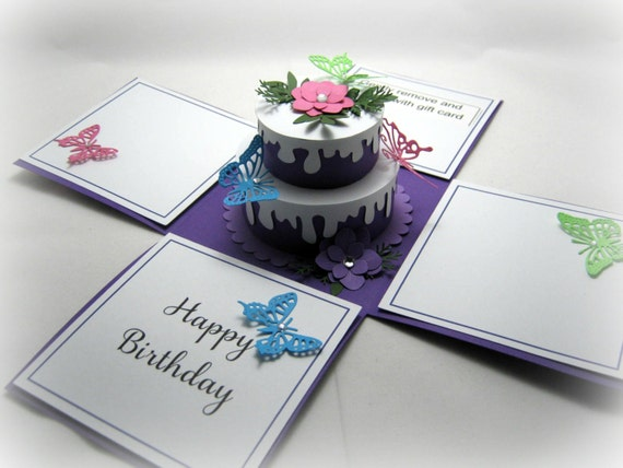Birthday Card Box gangcraftnet – Birthday Cards in a Box