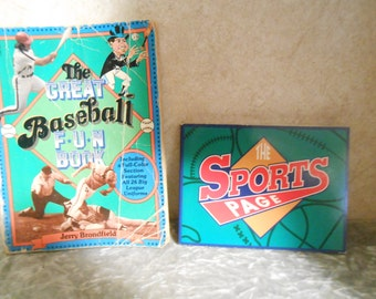 Two Sports Books, 1982 & 1993