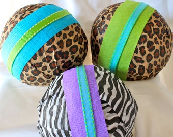 Surprise Ball Safari Kids Unwrap to find the toys and surprises inside Jungle Zoo  Adventure birthday gift or party favor  treasure bami