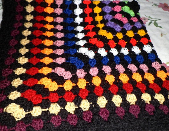 Crochet Patterns Knee Rugs : CROCHET BLANKET.Crochet Pattern. Hand made throw Over knee rug