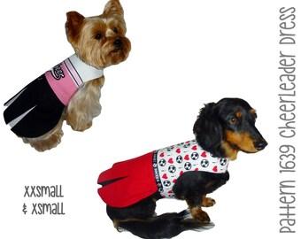 Dog Pajama Onesie Pattern 1745 Xxsmall Amp Xsmall Dog By