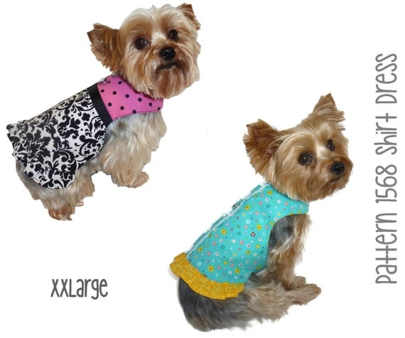 ... * Dog Harness Dress * Dog Shirt * Little Dog Dress * Dog Clothes