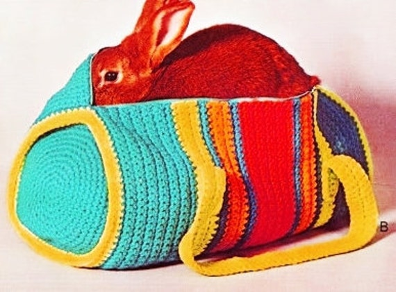 Crochet Duffle Bag : Duffle Bag Crochet Pattern - PDF Instant Download - Gym Bag - Crochet ...