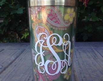 Personalized 16 oz Travel Mug W Slider Lid