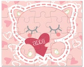 Personalized Kitty Puzzle - Kids Toys, Gifts for girls, Kids Gift Personalized Puzzles for Kids, Kitties, Kittens,Kids Personalized Puzzle,