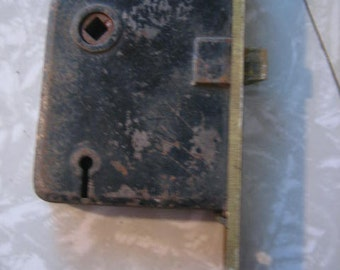 Vintage  Antique Door Lock Part