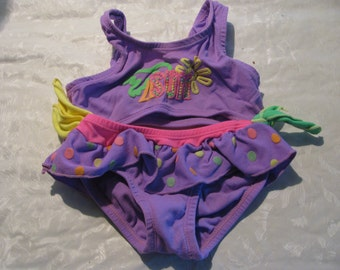 Vintage Baby Girl Bathing Suits
