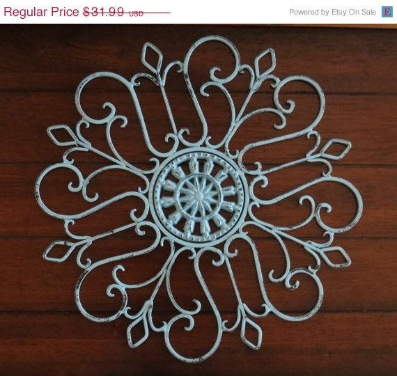 ON SALE TODAY Medallion Wall Decor/Scrolled By VeritasInspired