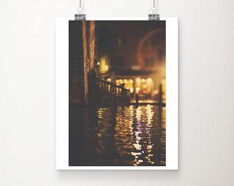 venice photograph venice print venice decor grand canal photograph Rialto Bridge photograph travel photography italy photograph