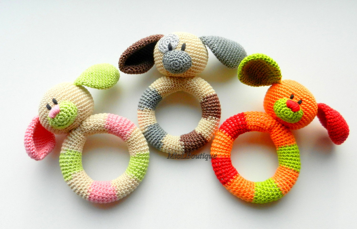 SALE Baby toy Rattle Teething baby toy Grasping Teething