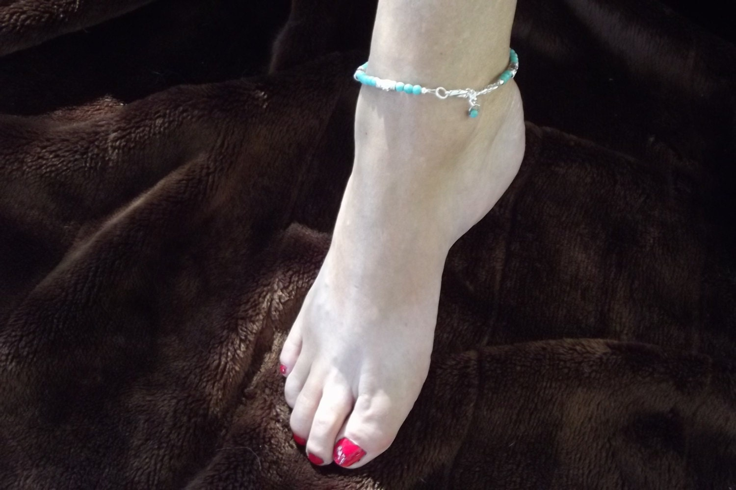 Non Metal Items Non Metal Anklet Handmade