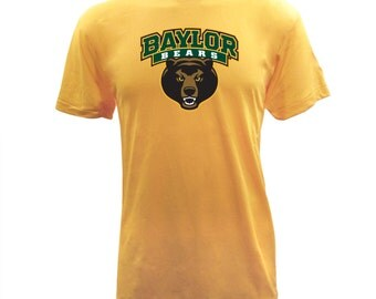 Baylor Bears Spirit Mark - Heather Gold
