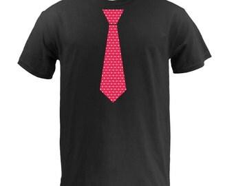 Valentine's Day Tie - Black