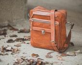 Weekender Bag, Overnight travel bag in Full Grain Vachetta Tan Leather Bag travel Bag,Business overnight bag,travel bag,man overnight bag,Bu