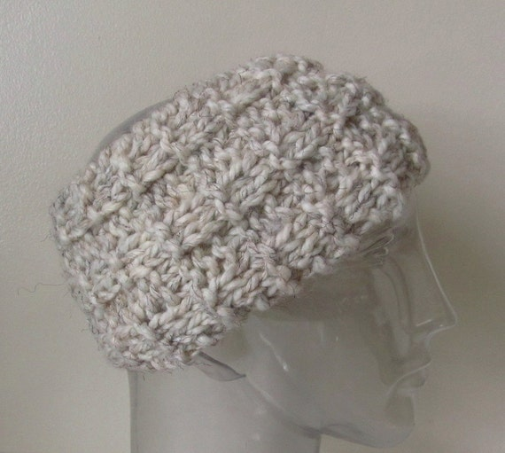 Knitting Pattern Ski Headband : Unisex Knit Headband Ski Band Ear Warmer by ...