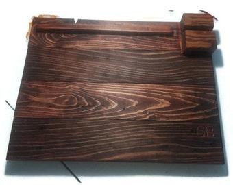 Laptop Lap Desk, Christmas Gift, Present, Homeschool, Wood Desk, Reclaimed Wood Lap Desk