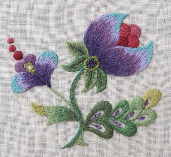 Anna scott embroidery hour
