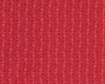 Apple of My Eye Coordinate- Red 100% cotton, Quilt Supplies