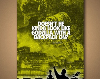 Mystery Science Theater 3000: GAMERA Movie Quote Poster