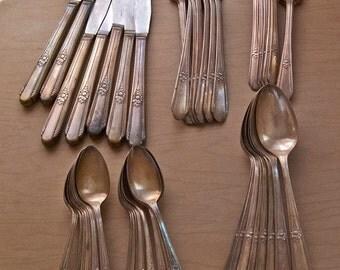 sterling plate flatware set
